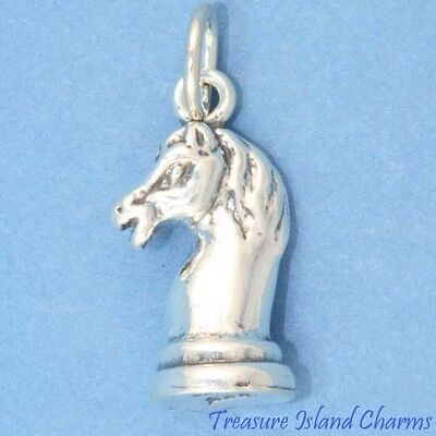 Skunk Animal 3D .925 Solid Sterling Silver Charm Pendant MADE IN USA