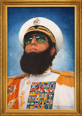 Brand New Movie Poster Print: The Dictator - Sacha Baron Cohen A3 / A4