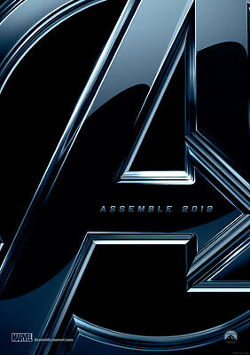 Brand New Movie Poster Print: Avengers Assemble A3 / A4