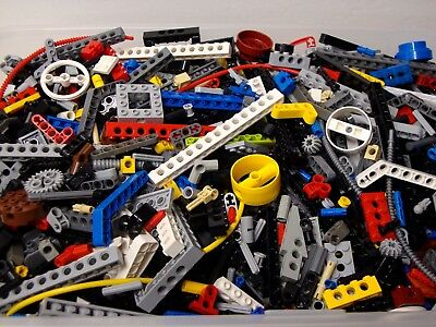 Lego Technic Bulk Lot 100 Parts Pieces Mindstorms Liftarms Beams Axle Pins Gear+