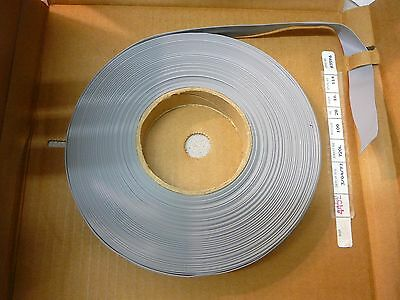 NEW Alpha Wire 3580/16 Grey (with Red stripe)  Flat Cable 16COND 28AWG 100 Feet