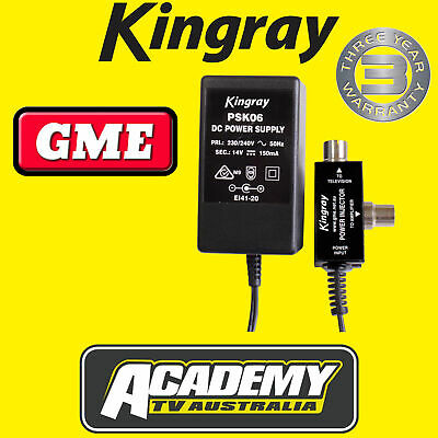 Power Supply Kingray Psk06 For Boosters & Amplifiers