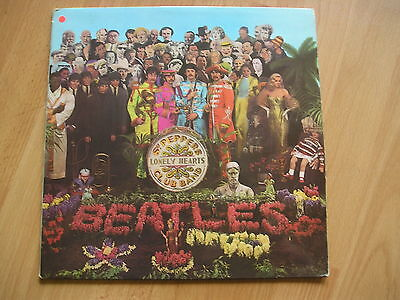 The Beatles Sgt Peppers Lonely Hearts Club Band Stereo Original w/inner + Insert