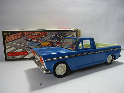 FIAT 2100 SEAT GORGO MADE IN ARGENINA IN TIN JUST FOR RETRO TOY COLLECTOR