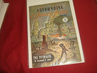 ASTOUNDING SCIENCE FICTION January 1947 UK Edition Pulp Magazine