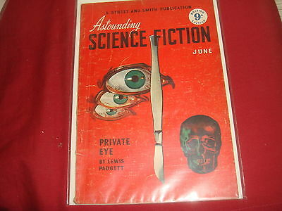 ASTOUNDING SCIENCE FICTION June 1950 UK Edition Pulp Magazine