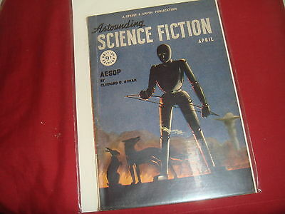 ASTOUNDING SCIENCE FICTION April 1948 UK Edition Pulp Magazine
