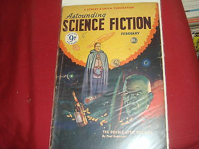 ASTOUNDING SCIENCE FICTION February 1950 UK Edition Pulp Magazine