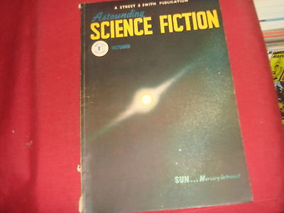 ASTOUNDING SCIENCE FICTION October 1948 UK Edition Pulp Magazine