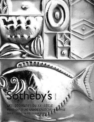 Sotheby's 20th Century Deco Design Arts Auction Catalog 2006