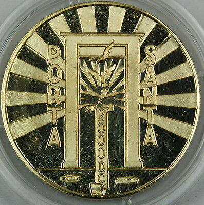 2000 Vatican City 18KT Gold Proof Coin, Porta Santa, Anno Santo