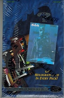 1995 Fleer Ultra Batman Forever Unopened Box 36 Packs Holograms