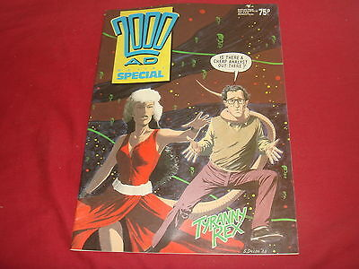 2000 AD A.D.  Sci-Fi Summer Holiday Special Comic 1988 Judge Dredd