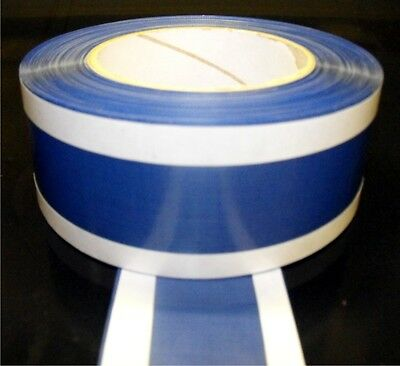 "PTFE GLASS CLOTH HEAT SEAL ZONE TAPE .003""x50o/ax30Mtrs(10/30/10) C1S4P4/BLUE"