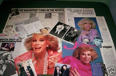 Joan Rivers -Celebrity   Clippings /cuttings