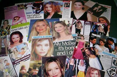 Calista Flockhart-Film/tv Star - Clippings - Cuttings-
