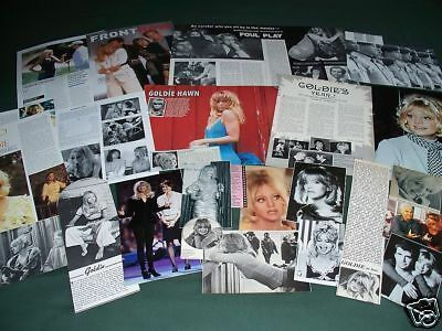 Goldie Hawn  - Film Star  - Clippings -Cuttings Pack