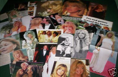 Goldie Hawn - Film Star - Clippings - Cuttings-