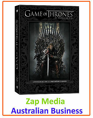 Game Of Thrones - Complete Blu Ray Season 1 One - Brand New - Region Free