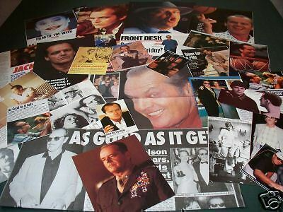 Jack Nicholson -Film Star - Clippings /cuttings - Pack