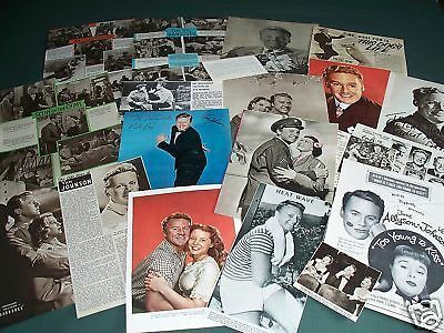Van Johnson  - Film Star - Clippings /Cuttings Pack