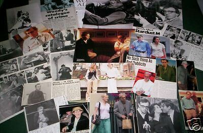Woody Allen - Film Star  - Clippings - Cuttings- Pack