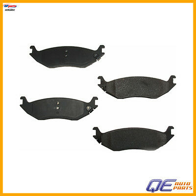 Rear Chrysler Aspen Dodge Durango Ram 1500 Brake Pad Set OPparts Ceramic D9898OC