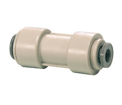 "1/4"" x 5/16""  John Guest  Straight Reducer Connector for water filter tube"