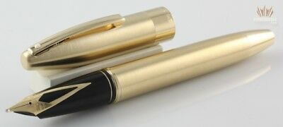 Sheaffer Legacy 860 Brushed Gold Plated Fountain Pen Touch Down Filler Mechanism