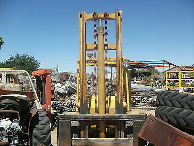 Hyster Forklift Perkins Diesel 4 Cylinder Runs  Great In Phx Az Look!!!!!!!!!!!