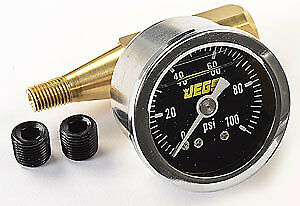 JEGS Performance Products 41016 Fuel Pressure Gauge Kit