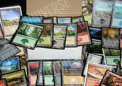 300 MTG BASIC LAND Magic The Gathering Collection Lands Lot