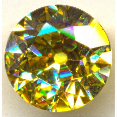 Transitional   Citrine Yellow  Round-Cut   6.5mm  1.7ct  Loose Gemstones