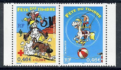0STAMP / TIMBRE DE FRANCE NEUF** N° P3547** paire 3547 3546a 2003 Luxe***