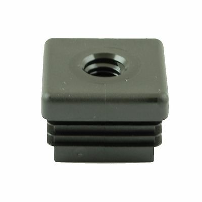 """Pack of 100 - M8 Threaded Insert - for benches tables and box section 25mm/1"""" Sq"""