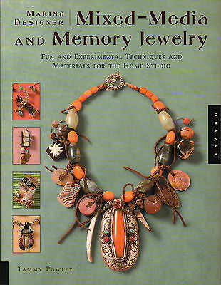 Mixed-Media & Memory Jewelry Necklace, Earrings, Pendant Pins & More Craft Book
