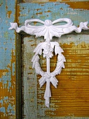 SHABBY n CHIC FRENCH BOW *COTTAGE FURNITURE APPLIQUES*