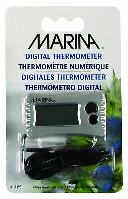 Fluval Marina Digital Thermometer 11196 Fish Tank Aquarium Heater Reading
