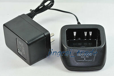 KSC-F6 Desktop Charger for Kenwood PB-42L Li-ion battery