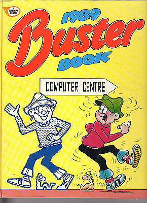 The Buster Book 1989 / Fine- / Unclipped.