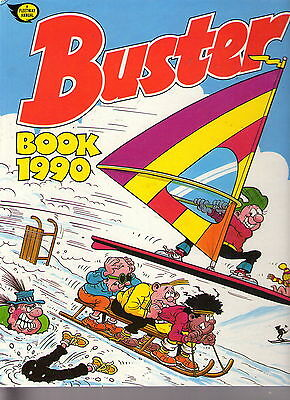 The Buster Book 1990 / Fine / Unclipped.