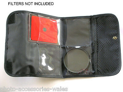 Kood 4 Pocket Filter Wallet For Up To 77Mm Filters Or 2X Cokin P Series