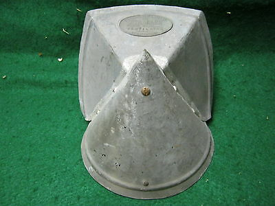 Antique Roof Ventilator Small Industrial Steampunk Metal # 582-12