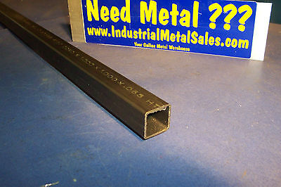 "1"" x 1"" x 48""-Long 4130 Steel Square Tube x .065"" Wall-->4130 1"" SQ x .065""wall"