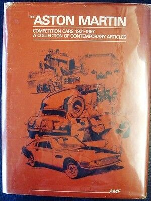 The Aston Martin A Collection Of Contemporary Articles 1921-1967 Feather Book