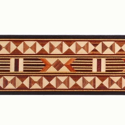"Wide 1-11/16"" Egyptian Buffard Marquetry Banding (Inlay-114)"