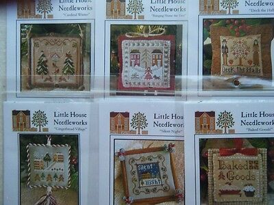 Little House Needleworks-2011  Holiday Ornaments #1-12. or complete set.