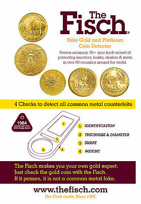 Fisch Fake Coin Detector for Gold Maple Leaf Coins