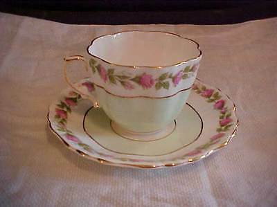 Hammersley PINK ROSES Cup and Saucer