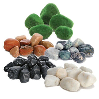Reef One Biorb Feng Shui Pebble Pack Red White Green Black Fish Tank Pebbles
